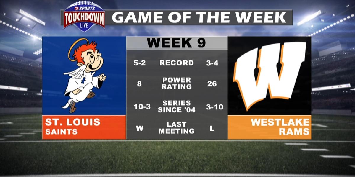 St. Louis at Westlake named week nine TDL Game of the Week
