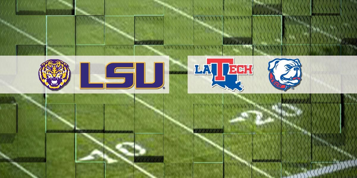 LSU vs Louisiana Tech: Times of Interest