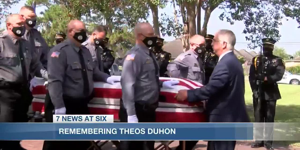 Former Cameron Parish Sheriff Theos Duhon honored and remembered