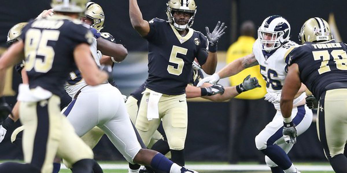 Saints signing QB J.T. Barrett to the practice squad