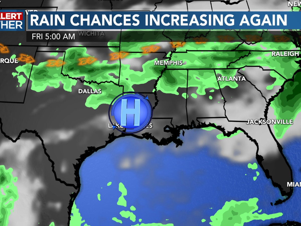 FIRST ALERT FORECAST: Drier weather pattern arriving soon…