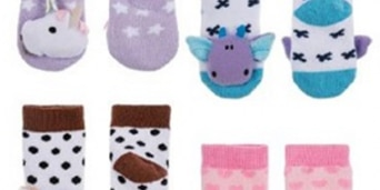 22,000 baby socks recalled due to ornaments detaching, choking hazard