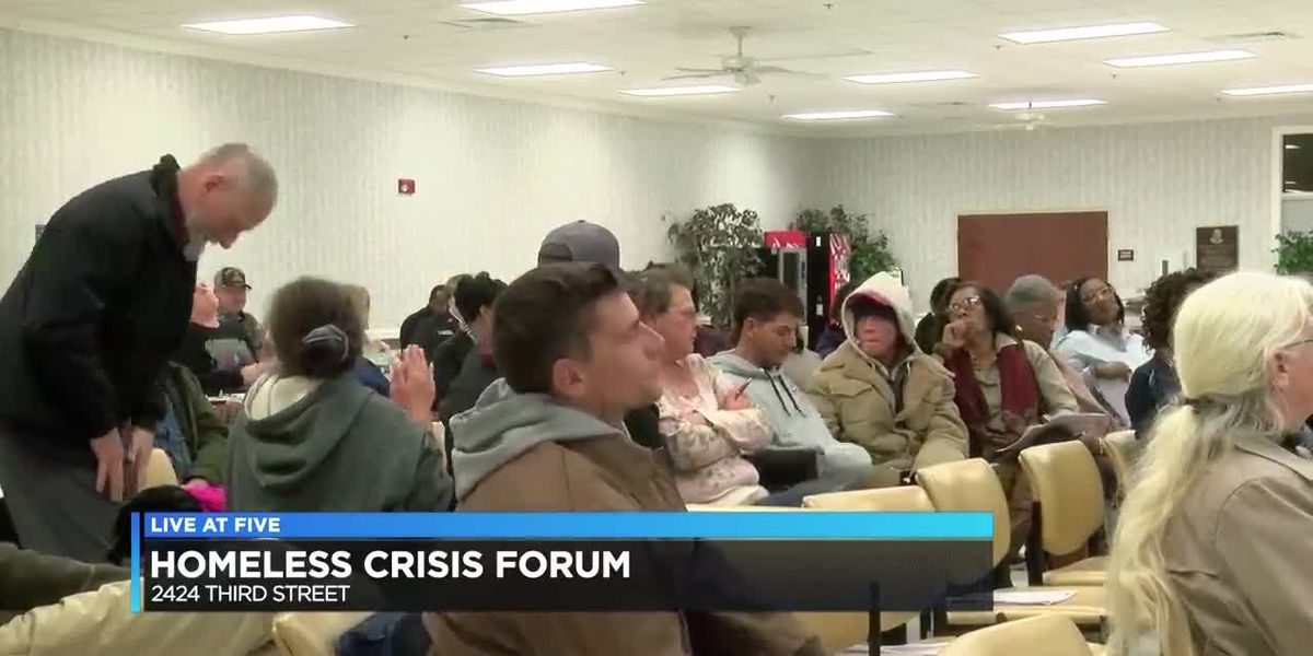 "Diverse cross-section discuss solutions at ""Housing & Homeless Crisis Forum"""