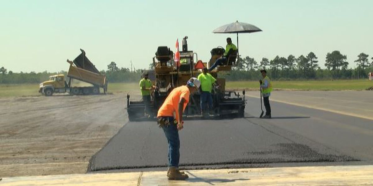 Chennault runway project underway