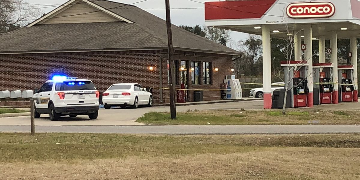 cpso investigating armed robbery at gas station on nelson road suspect flees the scene