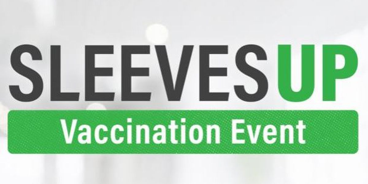 Sleeves Up vaccination events being held throughout SWLA
