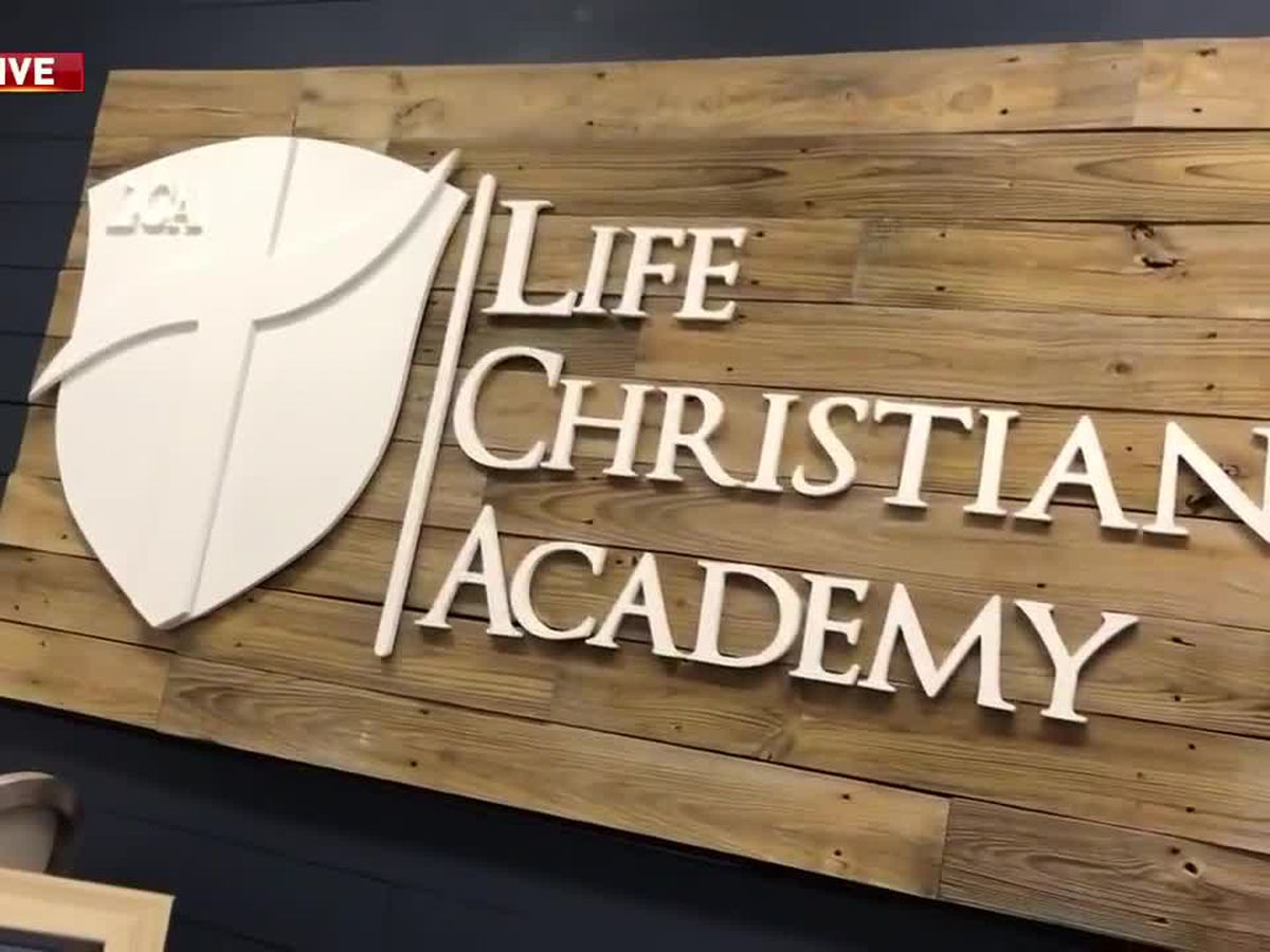 Life Christian Academy planning to reopen, just three weeks after Hurricane Laura