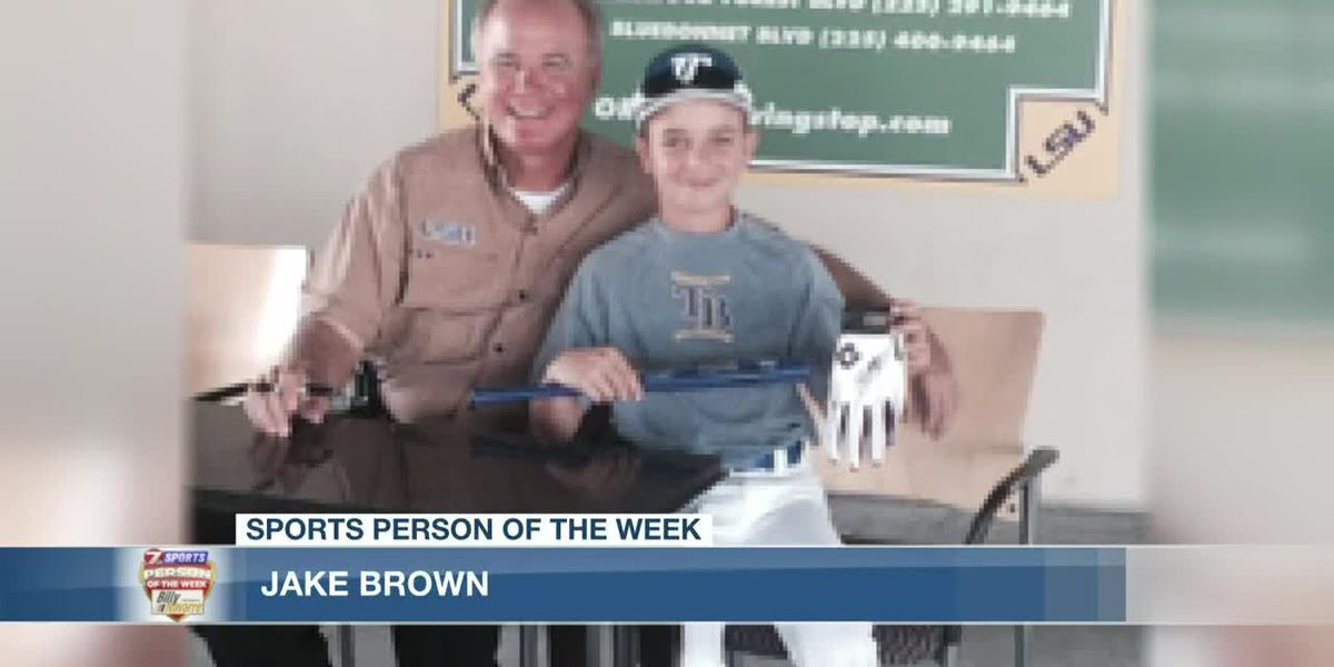 Sports Person of the Week - Jake Brown