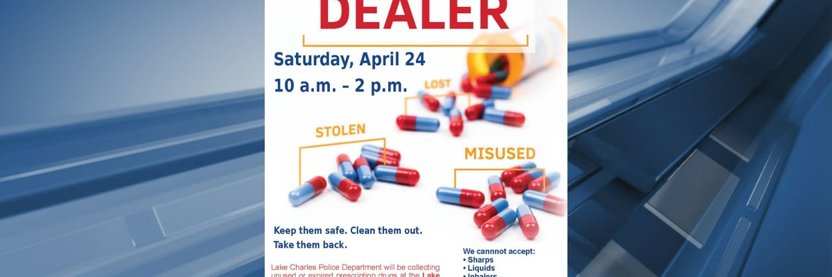 LCPD taking back unwanted prescription drugs Saturday