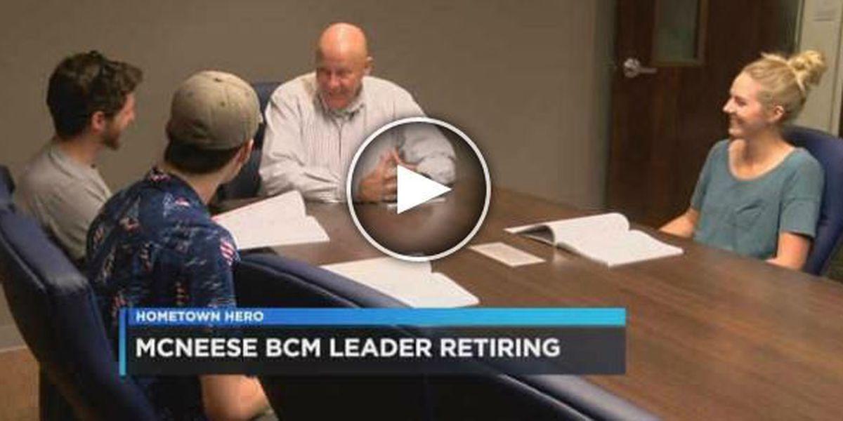Hometown Hero - Keith Cating retires from McNeese BCM