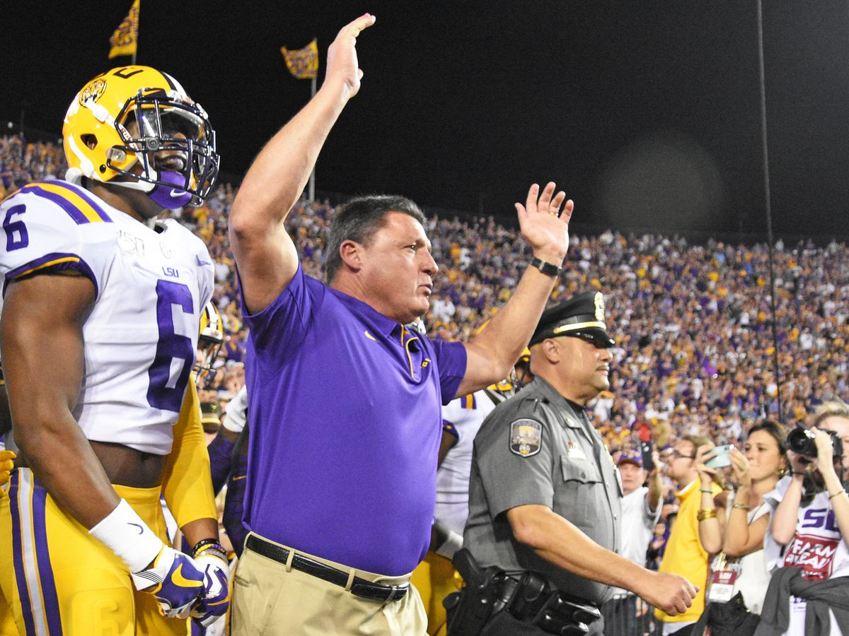 Lunch with Coach O: LSU vs Miss. St. Preview