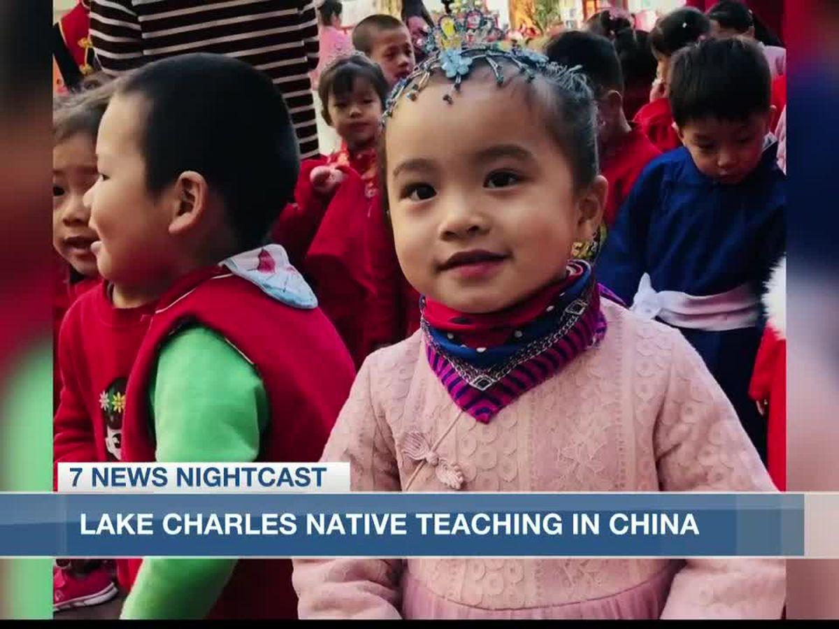 Lake Charles native teaches in China amid COVID-19