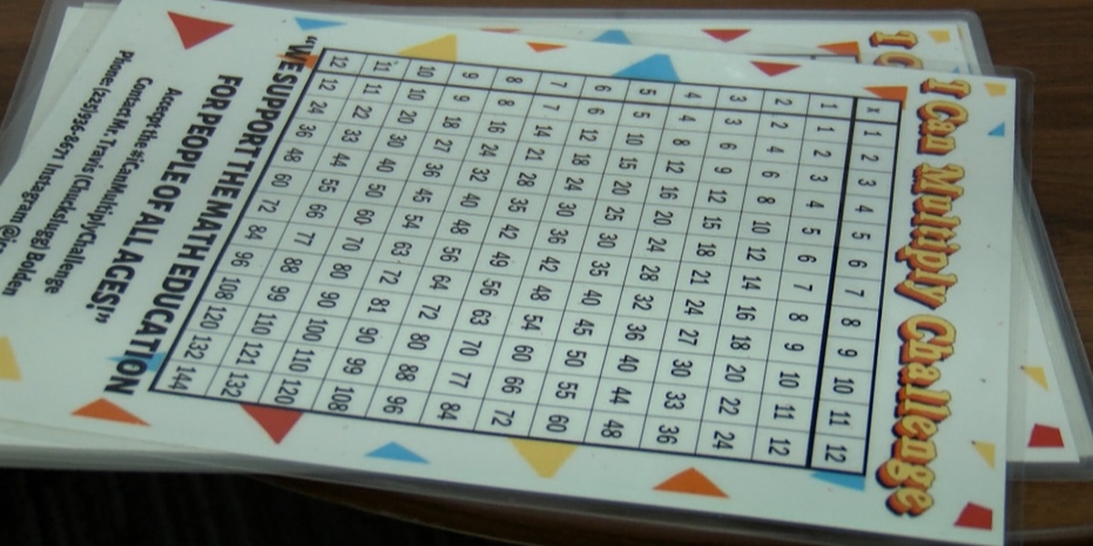 """""""I can multiply"""": Local group shows importance of knowing multiplication"""