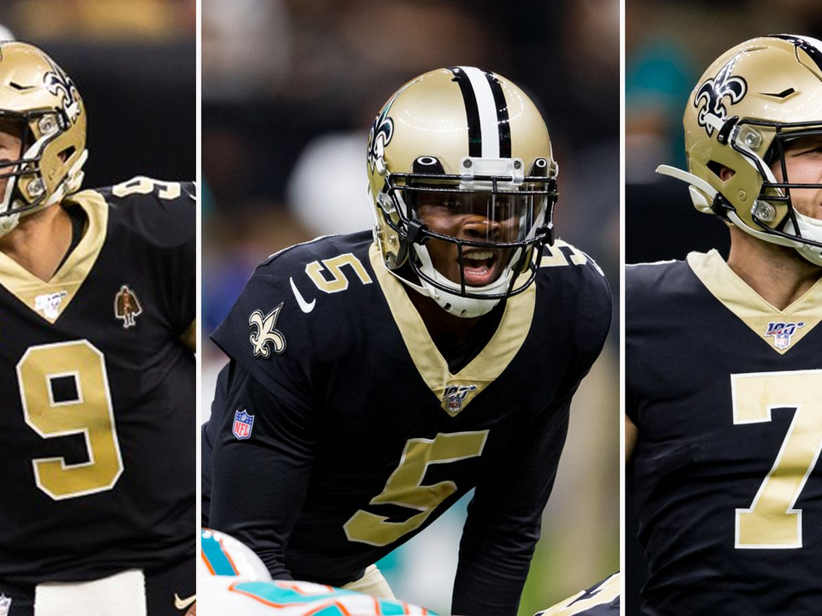 Brees, Bridgewater, and Hill on long list of Saints free agents in 2020