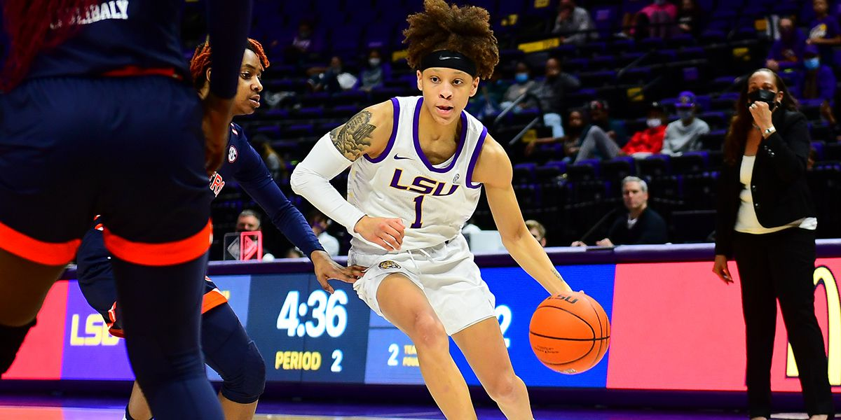 LSU dominates second half to win SEC opener over Auburn, 56-43