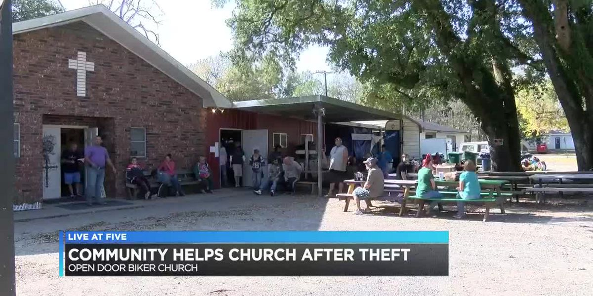 Sulphur church receives over $30,000 in donations after theft