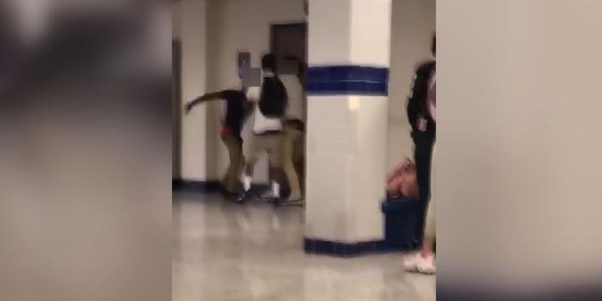 Two arrested, one hospitalized after fight at Barbe High