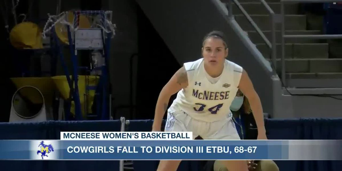 Cowgirls fall to ETBU, 68-67