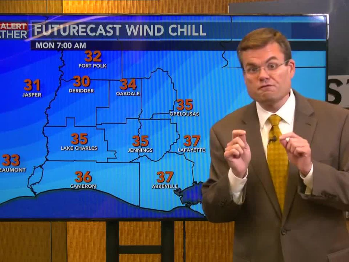 FIRST ALERT FORECAST: Freeze Warning in effect tonight; rain returns Wednesday