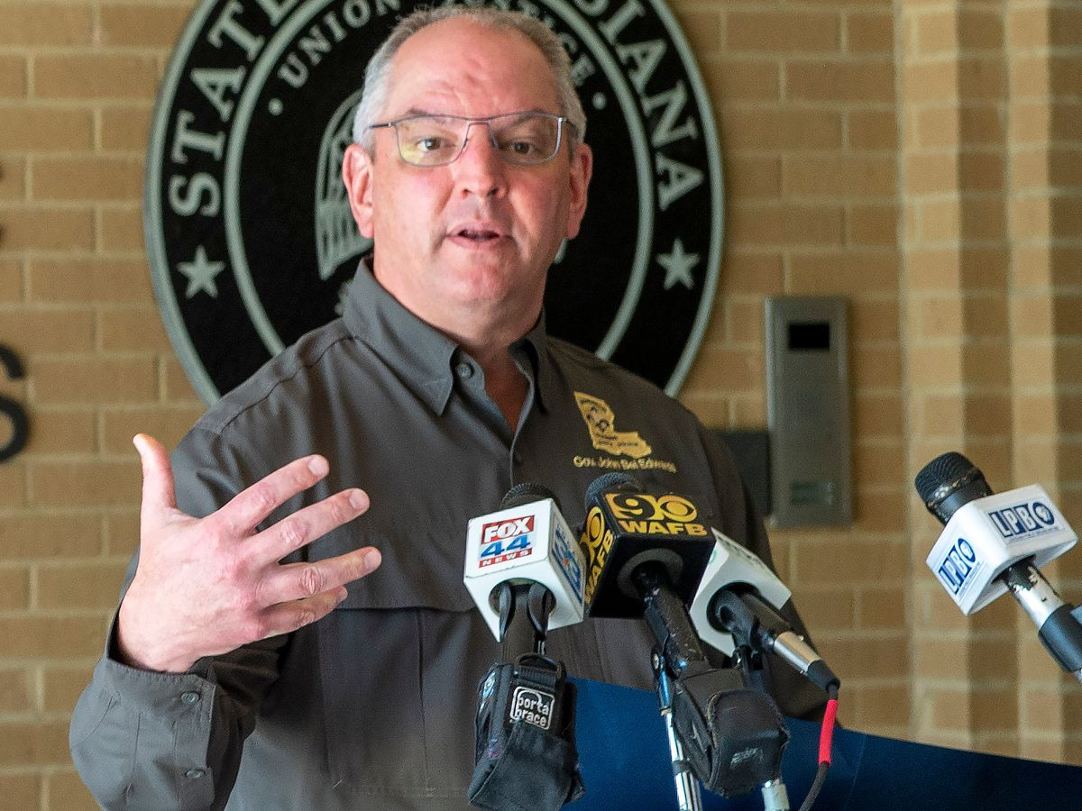 'Louisiana is in the third surge of this pandemic': Gov. Edwards gives stern warning to residents one week before Thanksgiving holiday