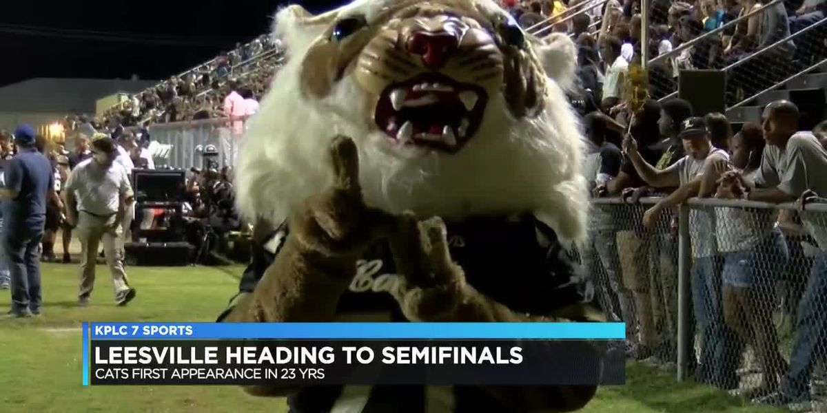 Leesville heads to semifinals for the first time since 1995