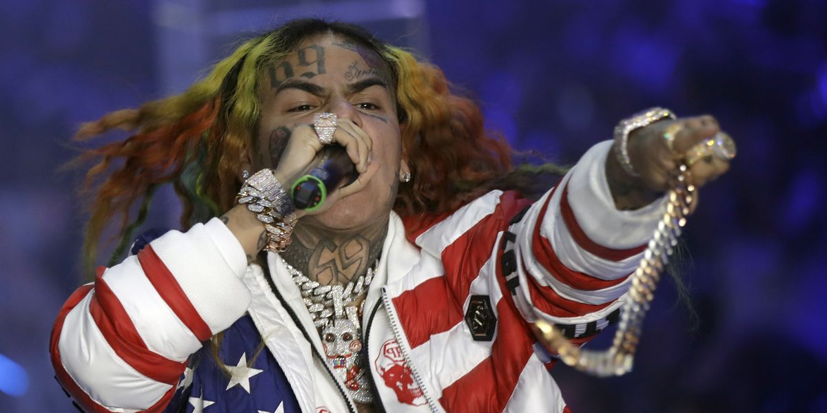 Brooklyn rapper 6ix9ine indicted on racketeering charges