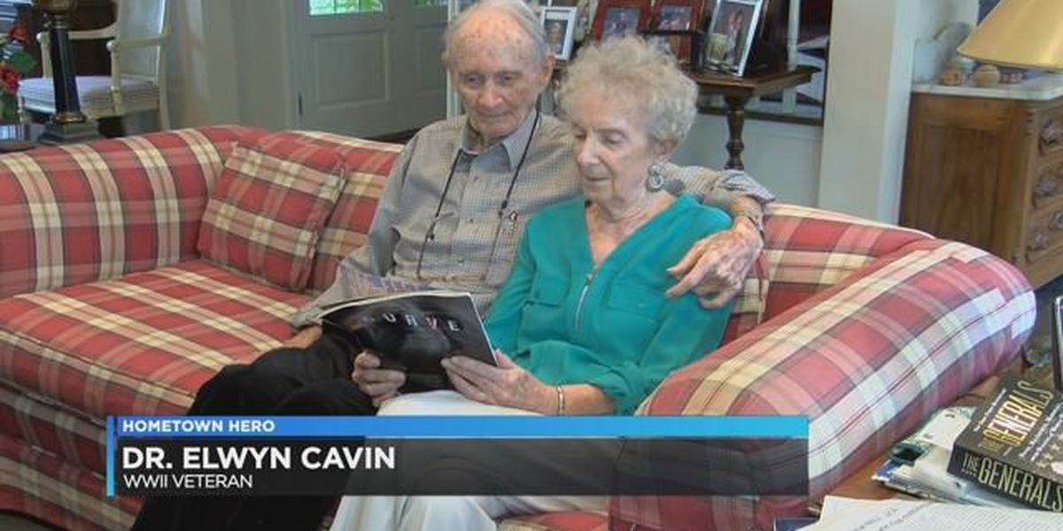 Hometown Hero: Dr. Elwyn Cavin served in WWII