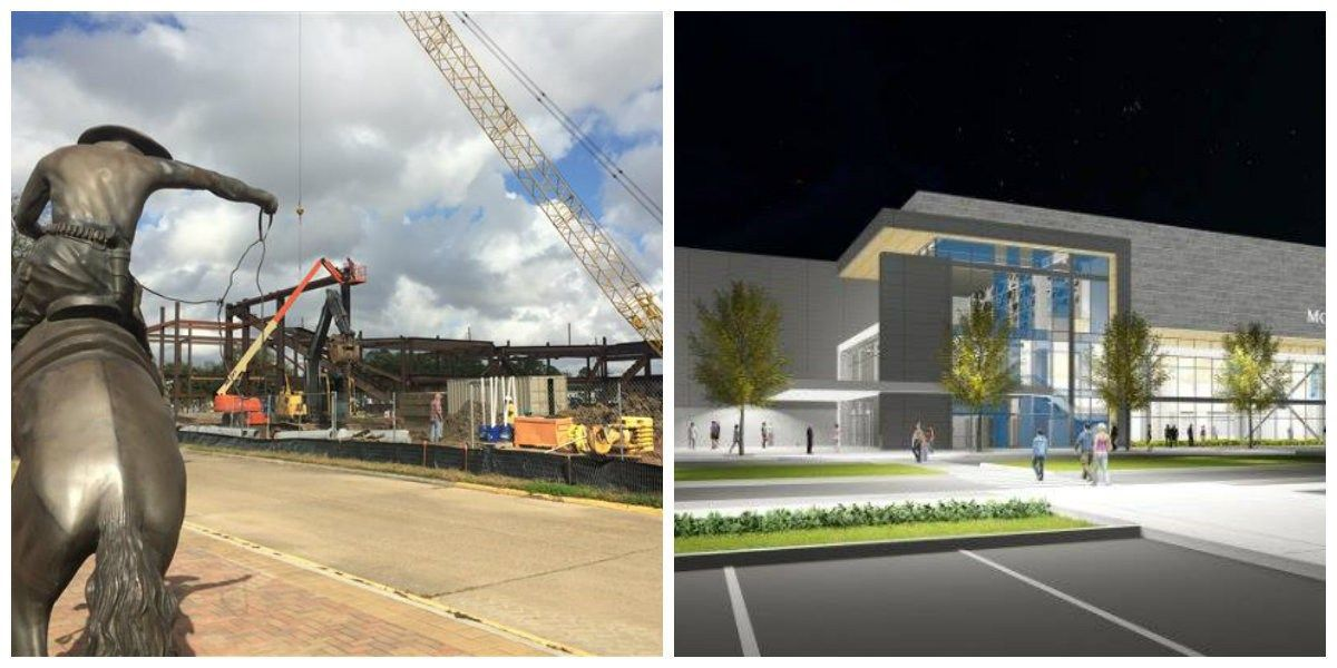 Construction on Health and Human Performance Education Complex progressing at McNeese