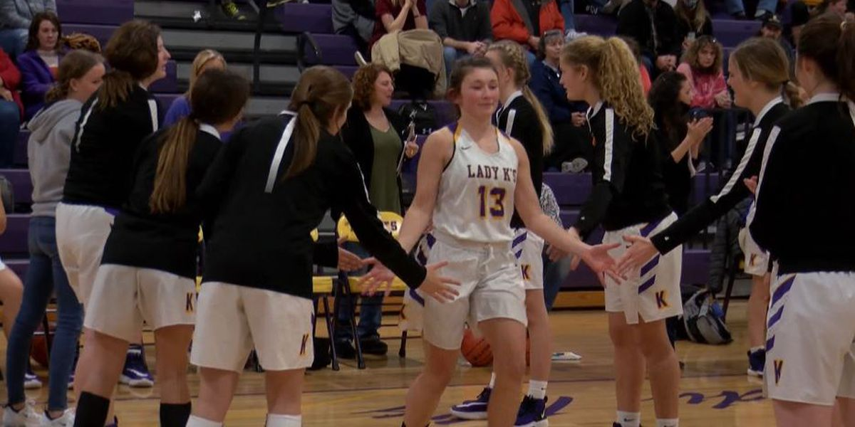 Lady K's can't contain hot-shooting Northwest Lady Raiders, 58-52
