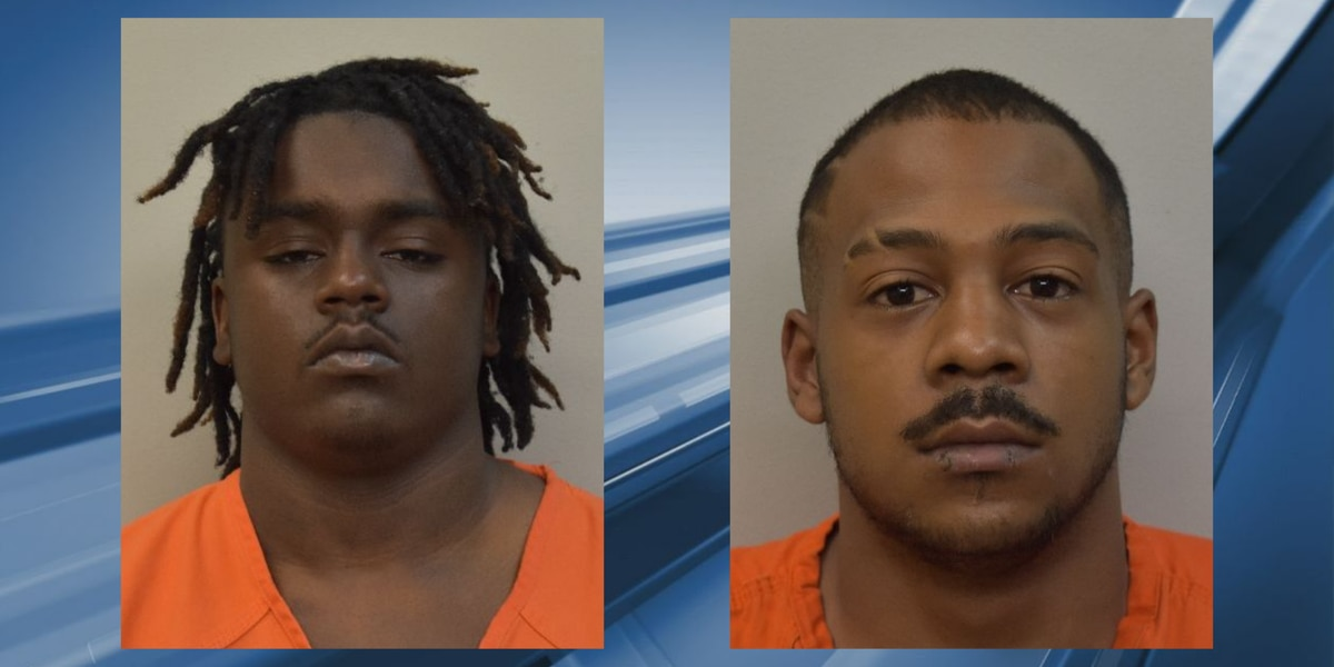 Two Lake Charles men accused of firing multiple rounds at vehicle