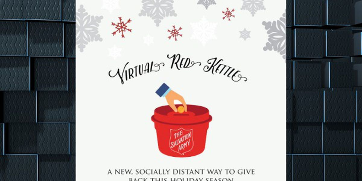 Last week to give to the Salvation Army's Red Kettle Campaign