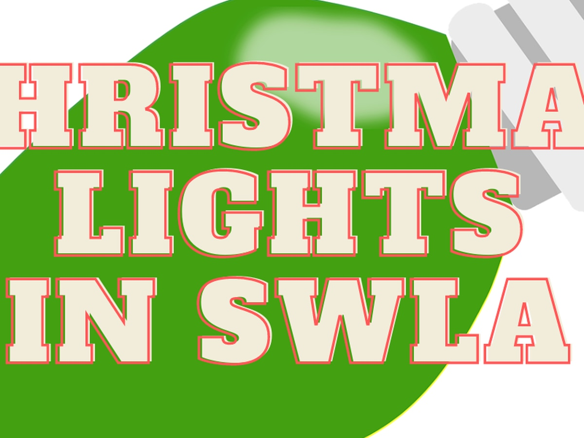 MAP: Christmas lights in SWLA