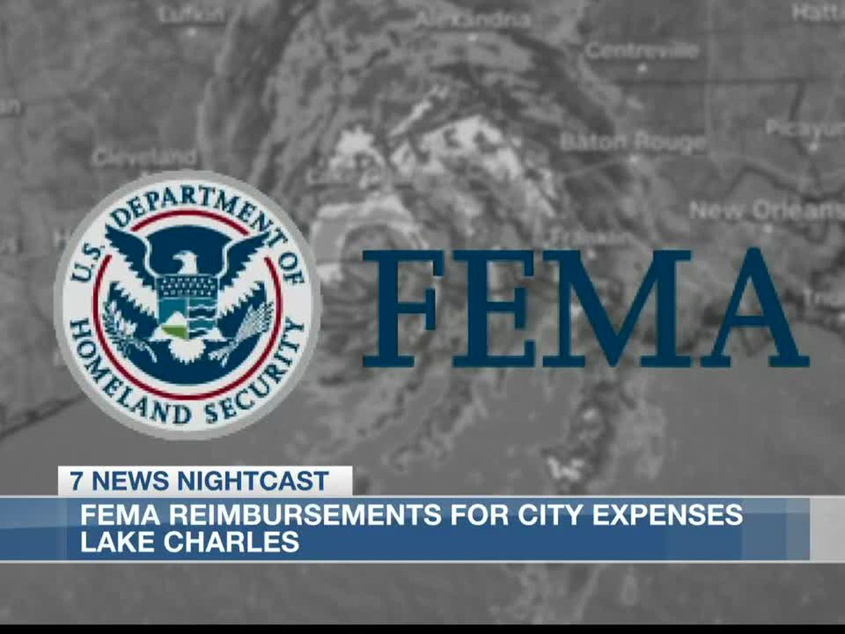 City of Lake Charles works to receive FEMA disaster assistance