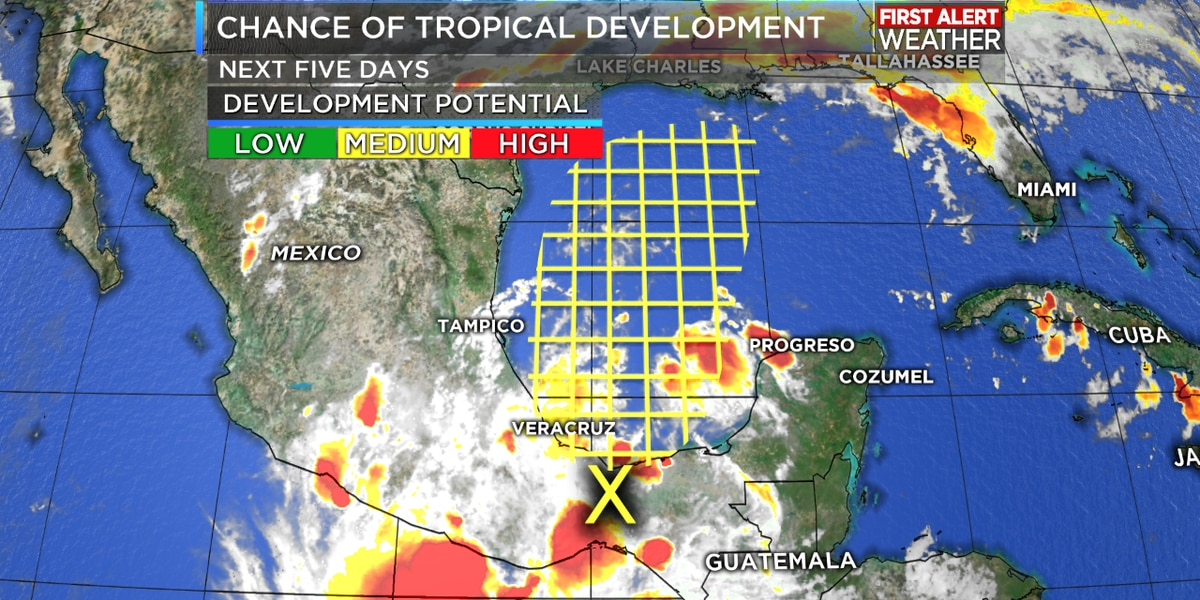 NHC: System in the Gulf of Mexico could become Tropical Storm Nestor