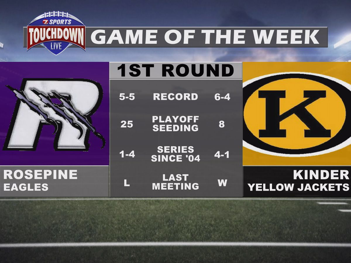 Kinder's playoff matchup with Rosepine named TDL Game of the Week