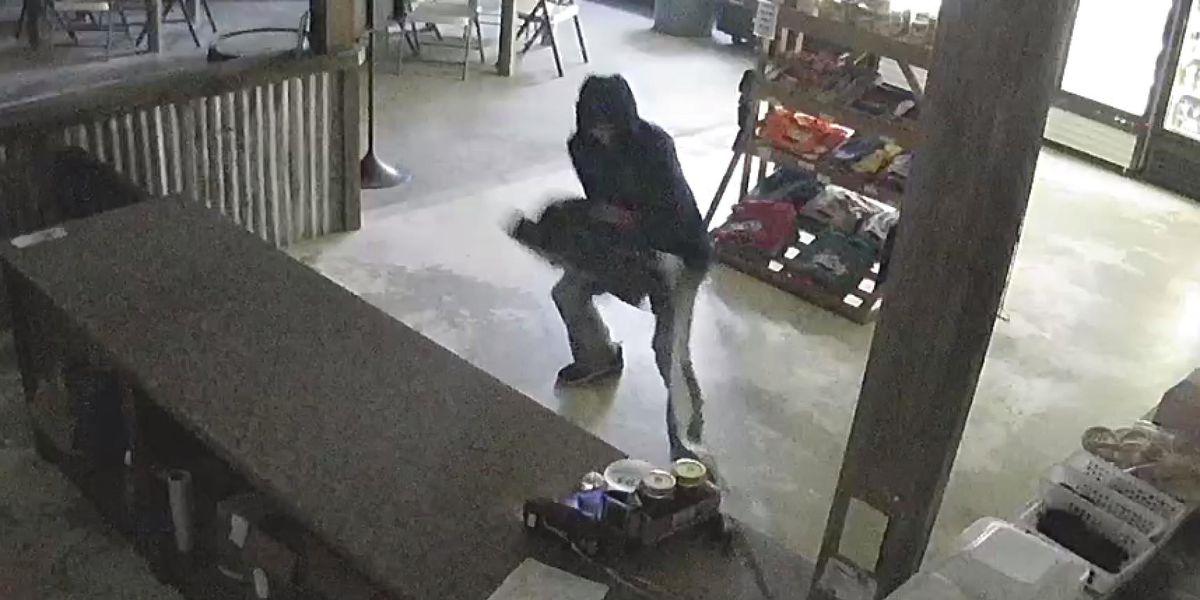 Jeff Davis authorities seeking identity of suspect in restaurant burglary