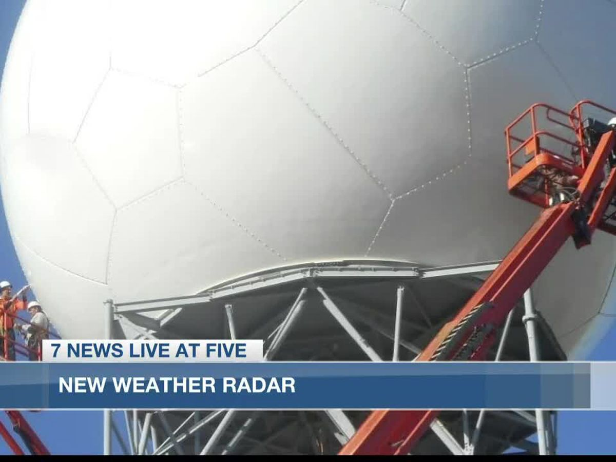 Radar back in action for National Weather Service in Lake Charles