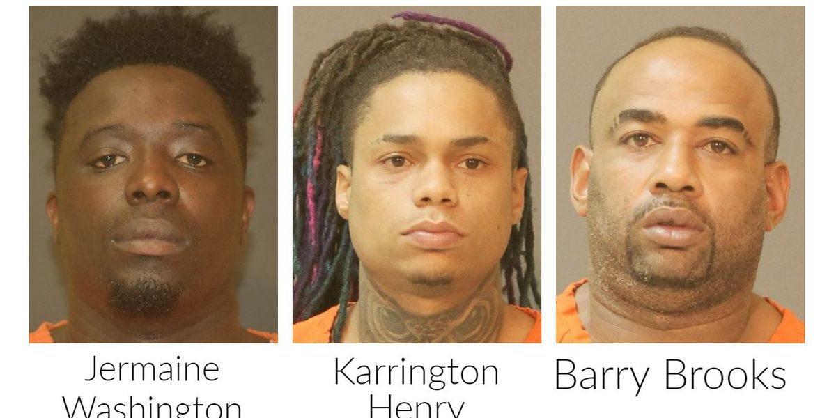 Three Lake Charles men indicted on first-degree murder charges