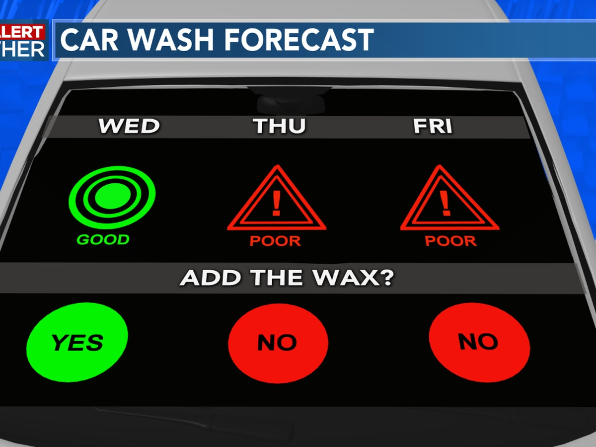 FIRST ALERT FORECAST: Clouds around for today, rain chances return for Thursday afternoon