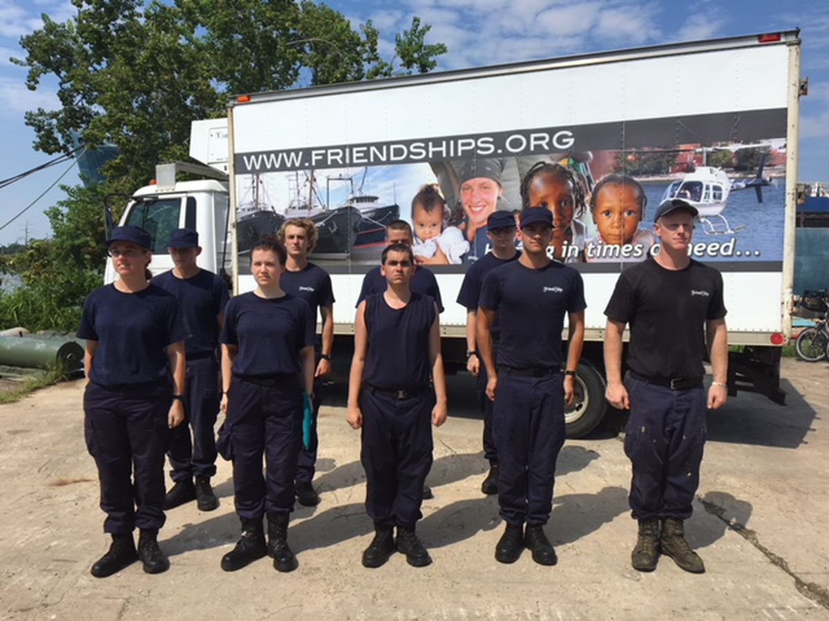 Friend Ships heading to North Carolina to help with water rescues