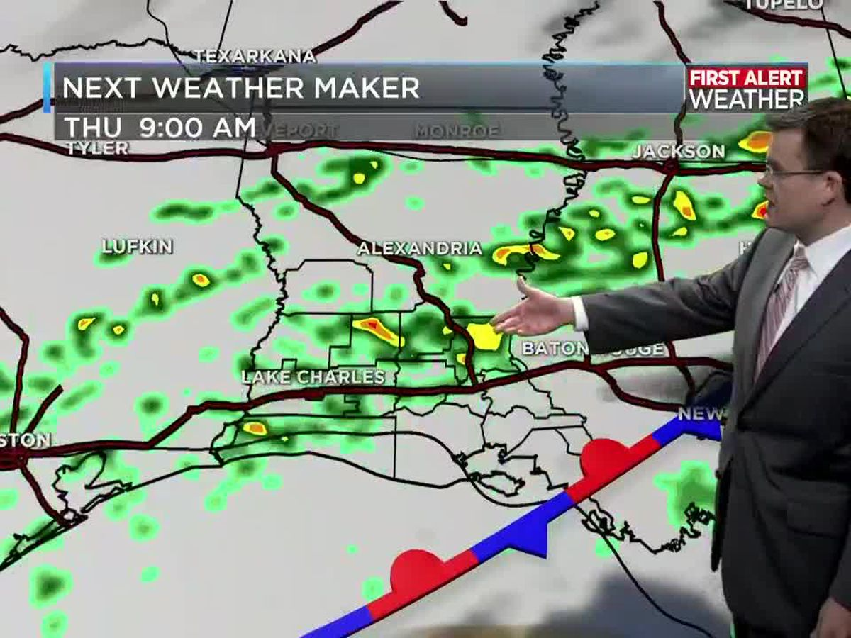FIRST ALERT FORECAST: Morning fog as rain quickly exits only to return Thursday