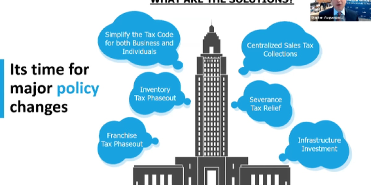 LABI president says tax reform a major focus of upcoming legislative session