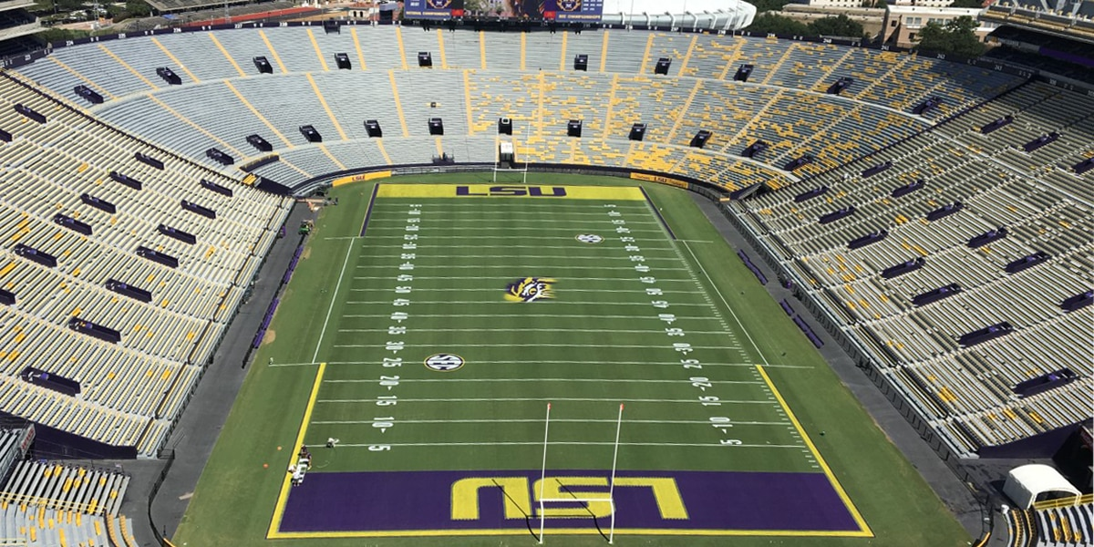 Governor says there is no 'difference of opinion' between him and LSU on Tiger Stadium seating capacity