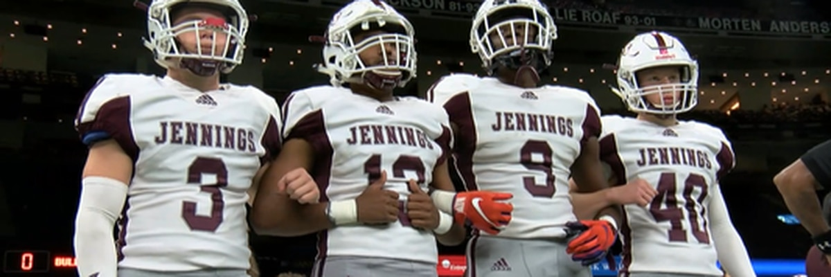 Jennings falls to St. James in 3A title game, 51-14