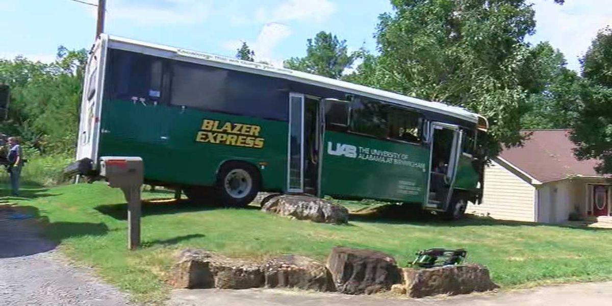 UAB employees injured in bus crash in northwest AL