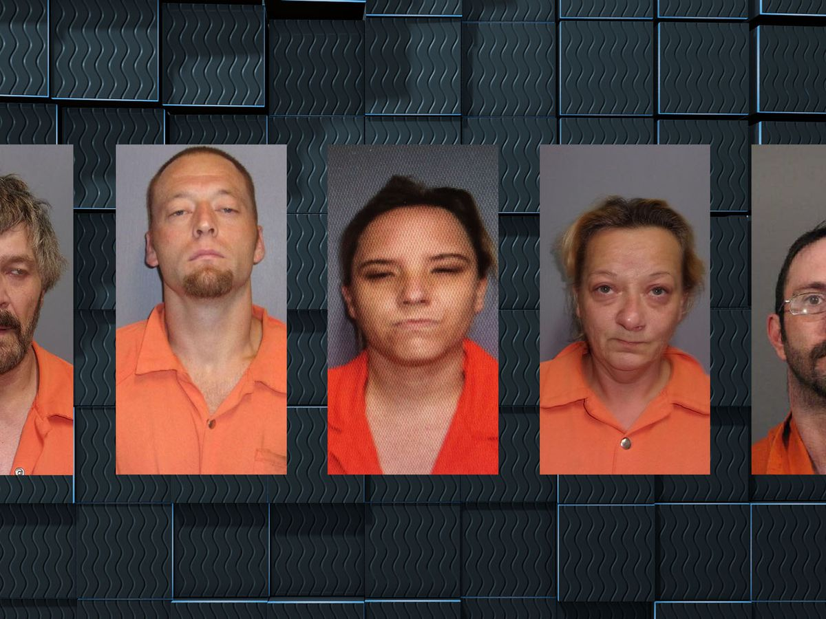 Four arrested, one wanted in Vernon Parish house fire