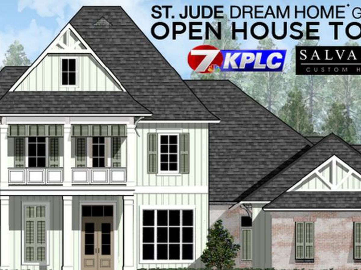 St. Jude Dream Home Giveaway show 10 a.m. Sunday on KPLC