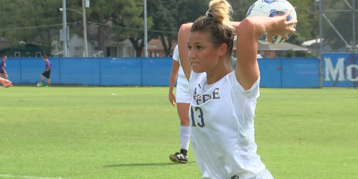 Seven Goal Shutout Win for McNeese Soccer on Senior Day