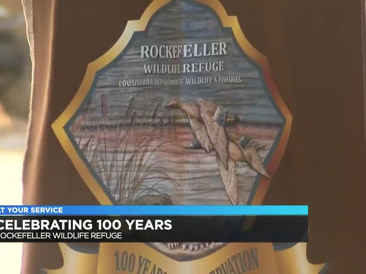 Rockefeller Wildlife Refuge celebrates 100 years of conservation efforts