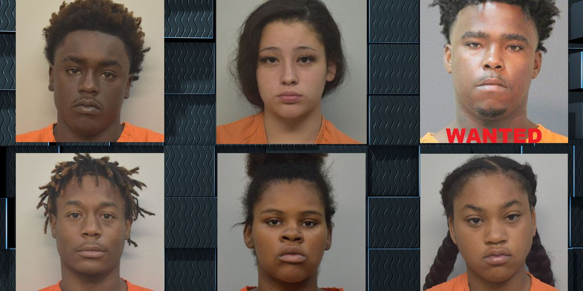 Five arrested, one sought for home invasion in Hayes
